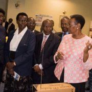 1st Lady during the Exhibition