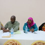 Chairpersons of DistrictEco-Schools Network from Sheema, Isingiro & Bushenyi in attendance