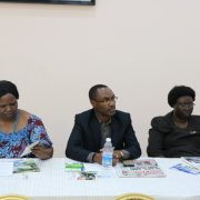 Country Director CECOD sitted between the Secretart General UNATCOM on left & ESD Champion