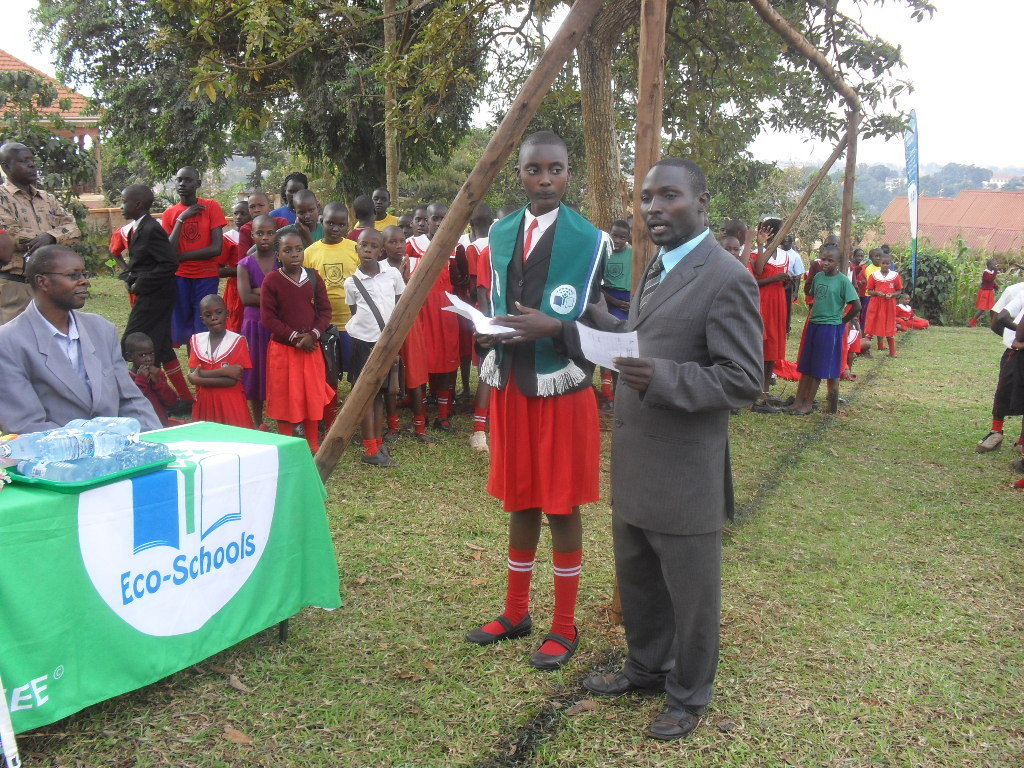 Empowerment of learners through Eco-pupil's parliaments as well as schooling
